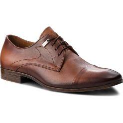 Półbuty SERGIO BARDI - Bannio FW127366718IG  104. Brązowe buty wizytowe męskie Sergio Bardi, z materiału. Za 229,00 zł.