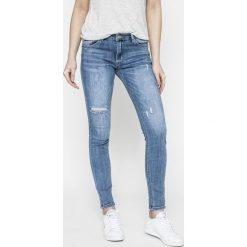 Answear - Jeansy. Niebieskie jeansy damskie marki ANSWEAR, z bawełny. W wyprzedaży za 99,90 zł.