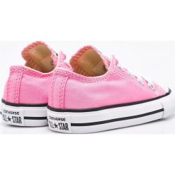 Converse - Tenisówki dziecięce. Różowe buty sportowe dziewczęce Converse, z gumy. W wyprzedaży za 139,90 zł.