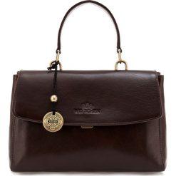 Torebka damska 35-4-055-4. Brązowe torebki klasyczne damskie Wittchen, w paski. Za 899,00 zł.