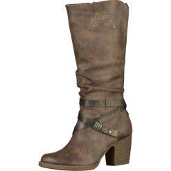 S.Oliver RED LABEL Kozaki lava comb. Brązowe buty zimowe damskie marki s.Oliver RED LABEL, z materiału. W wyprzedaży za 279,20 zł.