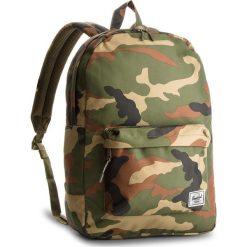 Plecak HERSCHEL - Classic 10001-00032 Woodland Camo. Zielone plecaki męskie Herschel, z materiału. W wyprzedaży za 169,00 zł.