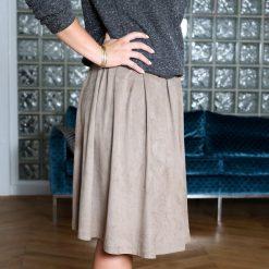 Minispódniczki: Spódnica z plisą