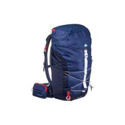 Plecak turystyczny MH100 20 l. Szare plecaki męskie marki QUECHUA, z elastanu. W wyprzedaży za 59,99 zł.