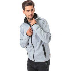 Bluzy męskie: 4f Bluza męska  szara r. L  (H4Z17 BLM005)