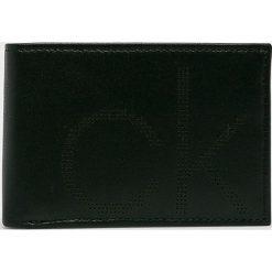 Calvin Klein - Portfel skórzany. Czarne portfele męskie marki Calvin Klein. Za 249,90 zł.