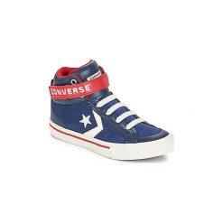 Buty Dziecko Converse  PRO BLAZE STRAP SUEDE HI. Niebieskie trampki chłopięce Converse. Za 239,00 zł.
