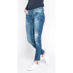 Pepe Jeans - Jeansy Joey. Niebieskie boyfriendy damskie marki Pepe Jeans. W wyprzedaży za 299,90 zł.