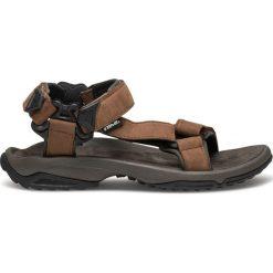 Sandały męskie: TEVA Sandały męskie M'S Terra Fi Lite Leather brązowe r. 40.5