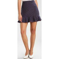 Minispódniczki: Kookai JUPE EVASEE Spódnica trapezowa bleu de minuit