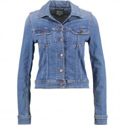 Lee SLIM RIDER Kurtka jeansowa ninety nine. Niebieskie bomberki damskie Lee, m, z bawełny. Za 399,00 zł.