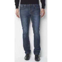 Dżinsy odopasowanym kroju, dł.34. Szare jeansy męskie marki La Redoute Collections. Za 109,20 zł.