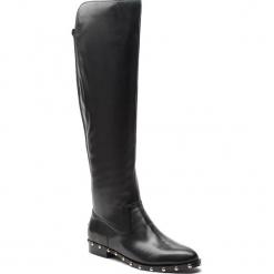 Oficerki GUESS - FLGRS4 LEA11 BLACK. Czarne buty zimowe damskie marki Guess, z materiału. Za 1159,00 zł.