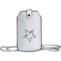 Torebki klasyczne damskie: Torebka na telefon komórkowy bonprix srebrny kolor