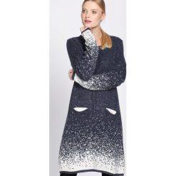 Granatowa Sukienka Efficacious. Niebieskie sukienki dzianinowe Born2be, na jesień, uniwersalny. Za 99,99 zł.