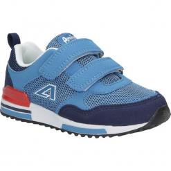 Niebieskie buty sportowe na rzepy American 6. Niebieskie buciki niemowlęce American, na rzepy. Za 69,99 zł.