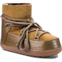 Buty INUIKII - Boot Classic 70101-7 Olive. Czerwone buty zimowe damskie marki Reserved, na niskim obcasie. Za 1269,00 zł.