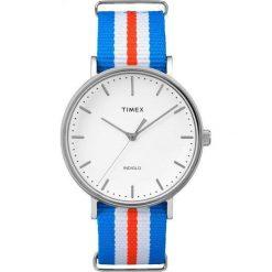 Zegarek Timex Damski TW2P91100 Weekender Fairfield 41 niebieski. Niebieskie zegarki damskie Timex. Za 208,99 zł.