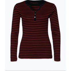 T-shirty damskie: brookshire – Damska koszulka z długim rękawem, czerwony