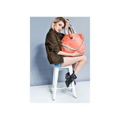 Duża torba szoperka Mili Duo MD1 - light pink. Czerwone torebki klasyczne damskie Mili-tu, w paski, duże. Za 189,00 zł.