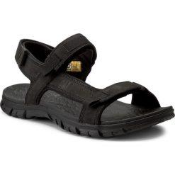 Sandały CATERPILLAR - Atchison P721278 Black. Czarne sandały męskie skórzane Caterpillar. W wyprzedaży za 249,00 zł.