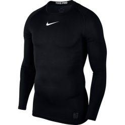 Koszulki do fitnessu męskie: koszulka termoaktywna męska NIKE PRO COMPRESSION TOP / 838077-010 – COMPRESSION TOP