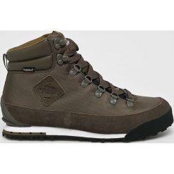 The North Face - Buty Berekeley. Szare buty trekkingowe męskie The North Face, z gumy, na sznurówki, outdoorowe. W wyprzedaży za 499,90 zł.