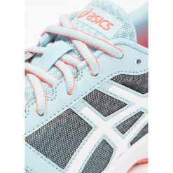 ASICS PATRIOT Obuwie do biegania treningowe porcelain blue/white/flash coral. Niebieskie buty do biegania damskie Asics, z materiału. Za 209,00 zł.