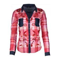 Desigual Koszula Damska Xs Czerwony. Czerwone koszule damskie marki Desigual, xs, z bawełny. Za 350,00 zł.