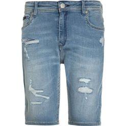 Kaporal PILOW Szorty jeansowe erades. Niebieskie spodenki chłopięce Kaporal, z bawełny. Za 209,00 zł.