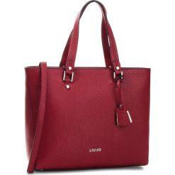 Torebka LIU JO - L Tote Isola N68006 E0033 Red 91656. Czerwone torebki klasyczne damskie marki Liu Jo, ze skóry ekologicznej. Za 649,00 zł.