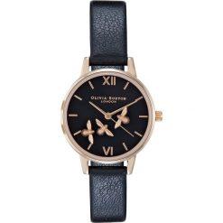 Olivia Burton Zegarek black/rosegoldcoloured. Czarne, analogowe zegarki damskie Olivia Burton. Za 1069,00 zł.