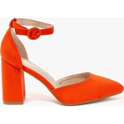 Answear - Czółenka Abloom. Szare buty ślubne damskie marki ANSWEAR, z gumy. W wyprzedaży za 89,90 zł.