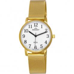 Zegarek Bisset Pozłacany zegarek Bisset BSBE91 GAWX 03BX Damski Klasyczny. Brązowe zegarki damskie Bisset, pozłacane. Za 350,70 zł.