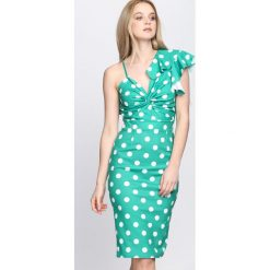 Zielona Sukienka Million Coin. Zielone sukienki koktajlowe Born2be, na lato, s. Za 89,99 zł.