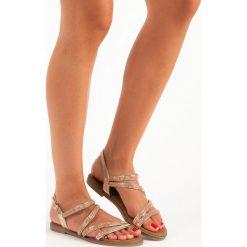 Sandały damskie: Różowe sandały damskie SWEET SHOES różowe