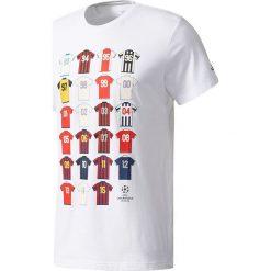 Adidas Koszulka męska CL History biała r. M (BP7276). Białe koszulki sportowe męskie Adidas, m. Za 91,49 zł.