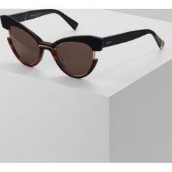 Max Mara INGRID Okulary przeciwsłoneczne black havana. Czarne okulary przeciwsłoneczne damskie aviatory Max Mara. W wyprzedaży za 887,20 zł.