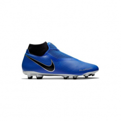 Buty do piłki nożnej Phantom Academy MG korki. Niebieskie buty skate męskie Nike, z syntetyku, do piłki nożnej. Za 299,99 zł.