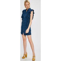 Vero Moda - Sukienka Cole. Szare sukienki mini marki Vero Moda, na co dzień, l, z lyocellu, casualowe. W wyprzedaży za 99,90 zł.