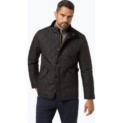 Barbour - Męska kurtka pikowana, niebieski. Niebieskie kurtki męskie bomber Barbour, l, ze skóry, eleganckie. Za 799,95 zł.