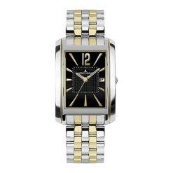 """Zegarek """"1-1346J"""" w kolorze srebrno-złoto-czarnym. Analogowe zegarki męskie Festina & Hugo Boss, ze stali. W wyprzedaży za 499,95 zł."""