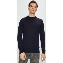 Tommy Hilfiger Tailored - Sweter. Czarne swetry klasyczne męskie Tommy Hilfiger Tailored, l, z dzianiny, z okrągłym kołnierzem. Za 399,90 zł.