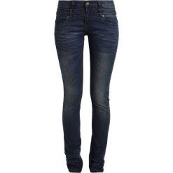 Circle of Trust DNIMES Jeansy Slim fit dark blue. Brązowe jeansy damskie marki Circle of Trust, xl, z materiału. W wyprzedaży za 284,25 zł.