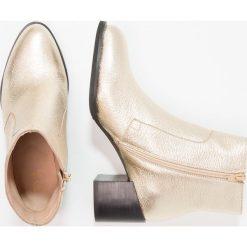 Botki damskie lity: Shoe The Bear CECI  Botki gold