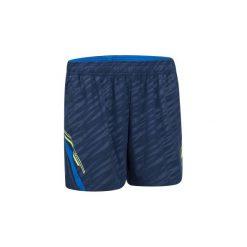 Spodenki badminton 860 damskie. Niebieskie szorty damskie ARTENGO, z elastanu. W wyprzedaży za 39,99 zł.