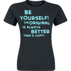 Bluzki asymetryczne: Be Yourself Koszulka damska czarny