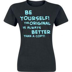 T-shirty damskie: Be Yourself Koszulka damska czarny