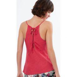 Etam - Top piżamowy Monoi. Niebieskie piżamy damskie marki Etam, l, z bawełny. W wyprzedaży za 59,90 zł.