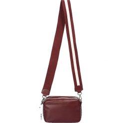 """Torebki klasyczne damskie: Skórzana torebka """"Marcy"""" w kolorze bordowym - 22 x 14,5 x 9 cm"""